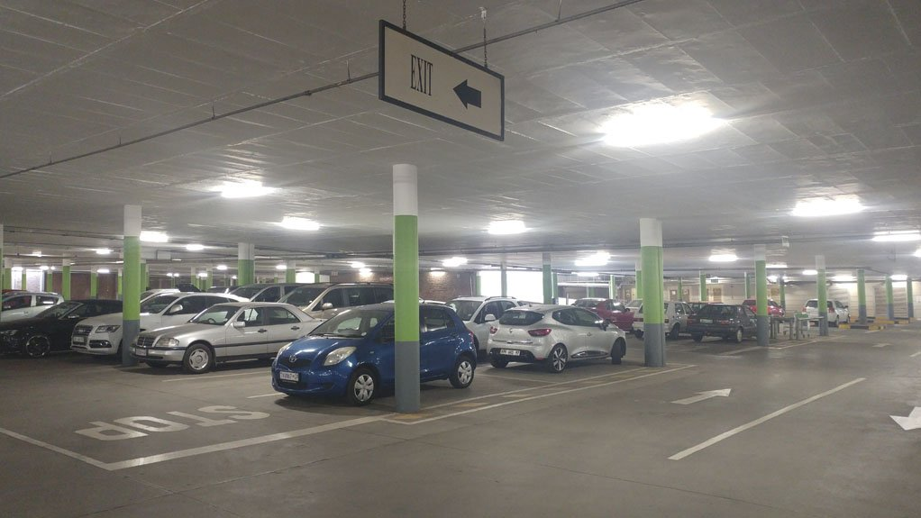 TRADITIONALLY COMPLEX Lighting solutions for parkades are complex projects, as most of the installation work needs to be done outside of normal business hours