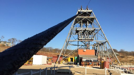 Notable shaftsinking progress achieved at Blanket mine