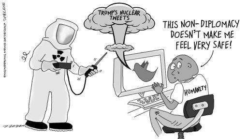 NUCLEAR NON-DIPLOMACY
