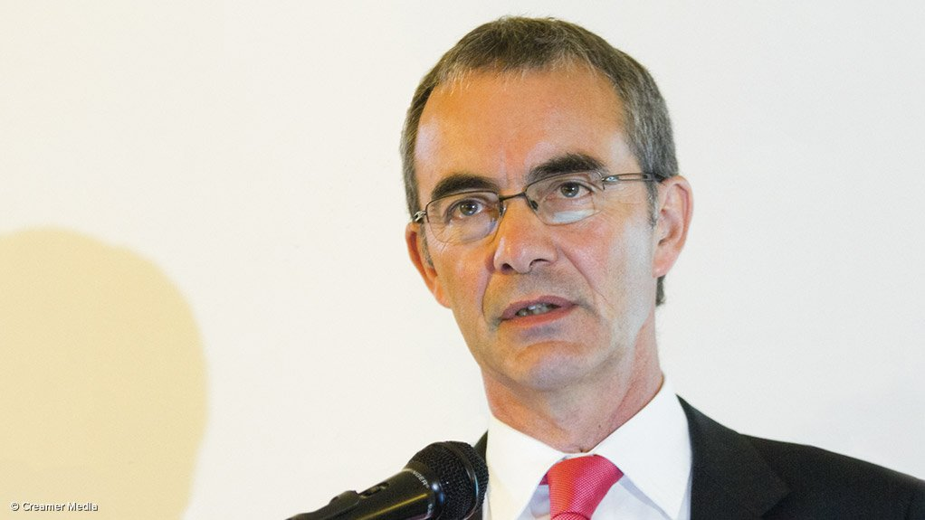Chamber of Mines chief economist Henk Langenhoven