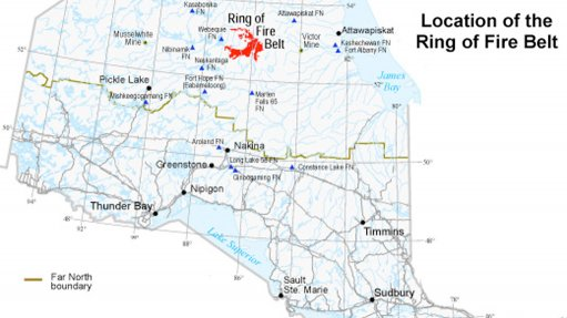 Ontario sets timeframe for road construction into Ring of Fire mining camp