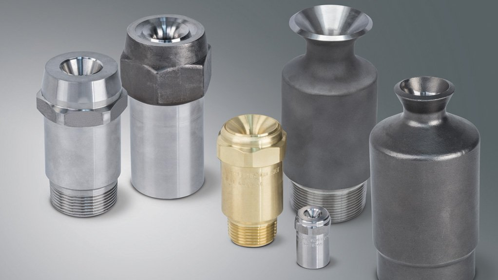 KEY COOLING Spray injectors inject liquids or gases into process streams, providing critical cooling, mixing, quenching, washing, humidifying, gas cooling or chemical reactions