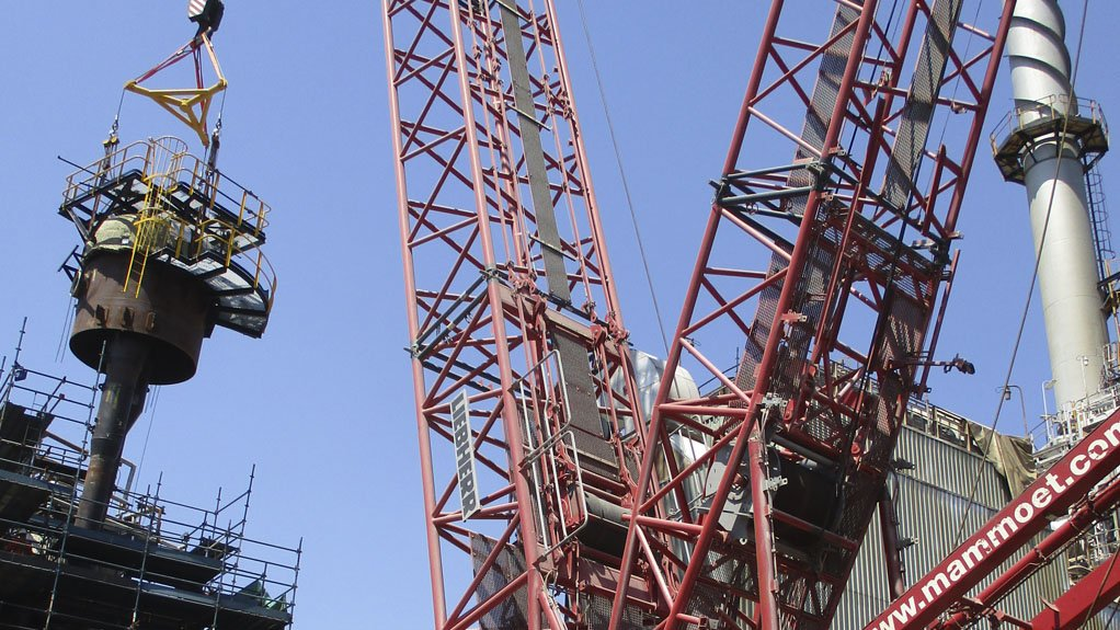 STRATEGIC RIGGING Optimised rigging execution led to significant cost savings for the client