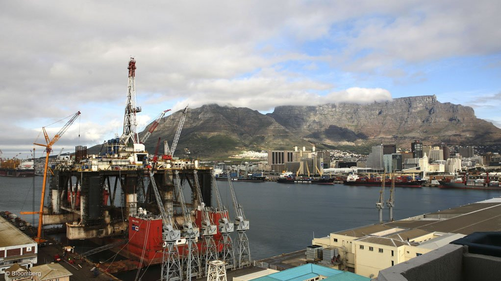 INCREASED CAPABILITY Expansions of South Africa's port infrastructure will increase the number of oil rigs docking for maintenance and repairs in the country
