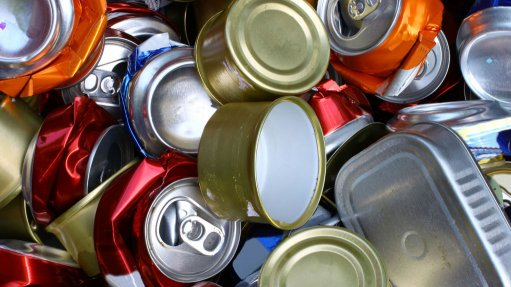 ONE MAN'S TRASH Aluminium and metal cans are regarded as high-value items by recyclers