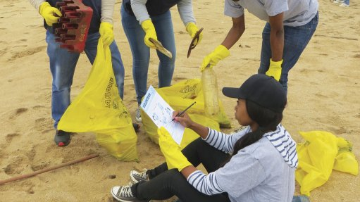 SAVING THE ENVIRONMENT Saving the seas international Coastal Clean-up day on September 16 is the highlight of Clean-up and Recycle SA Week