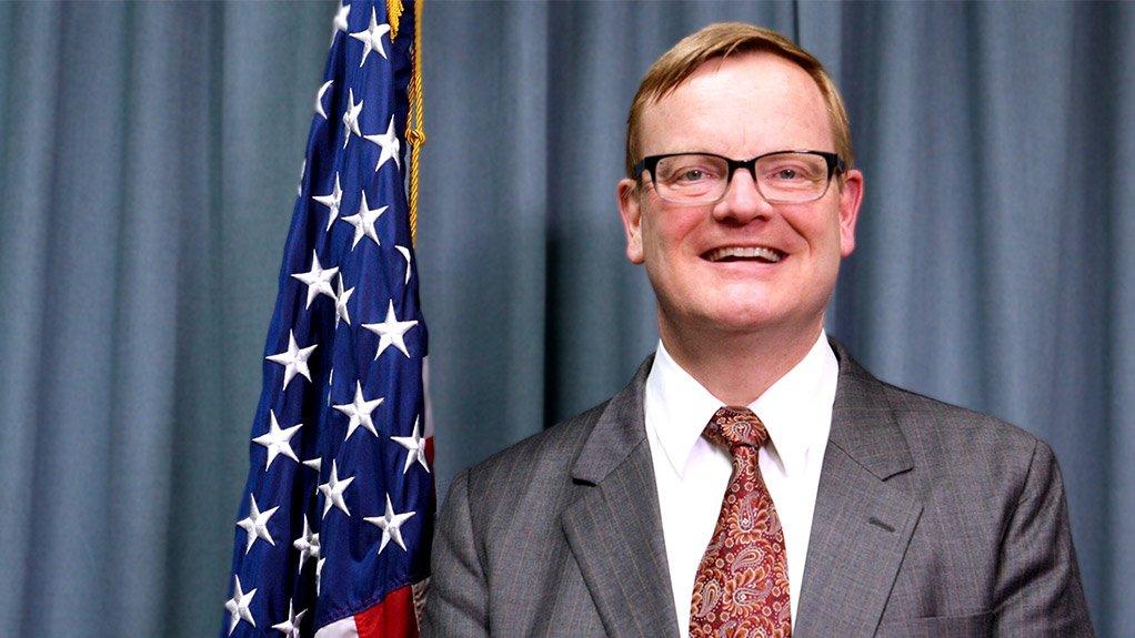 US Embassy's Economic Counsellor Laird Treiber