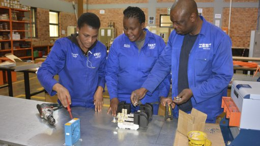 PROACTIVE VALUE ADDITION Ongoing training and technology transfer is a focus at Zest WEG Group