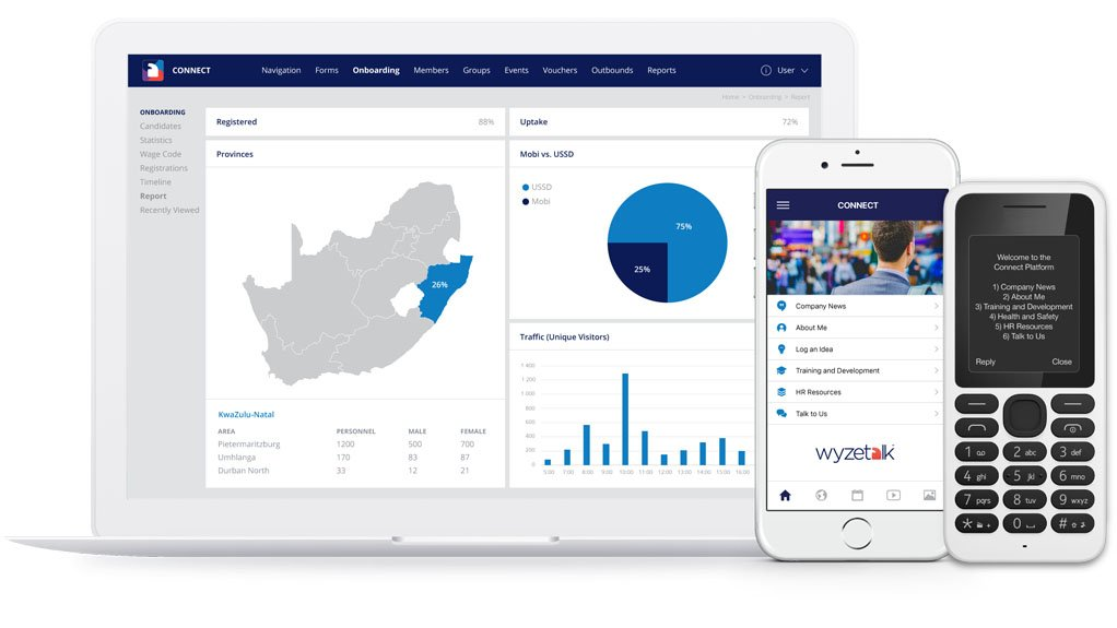CUSTOMISED ENGAGEMENT Wyzetalk can deliver content that is valuable for both the employer and the employee