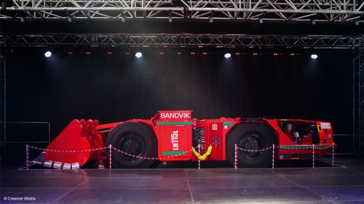 Sandvik unveils new R15m local production facility, launches new LHD line