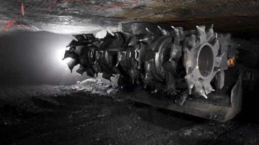 Hazardous area control system  for coal mining