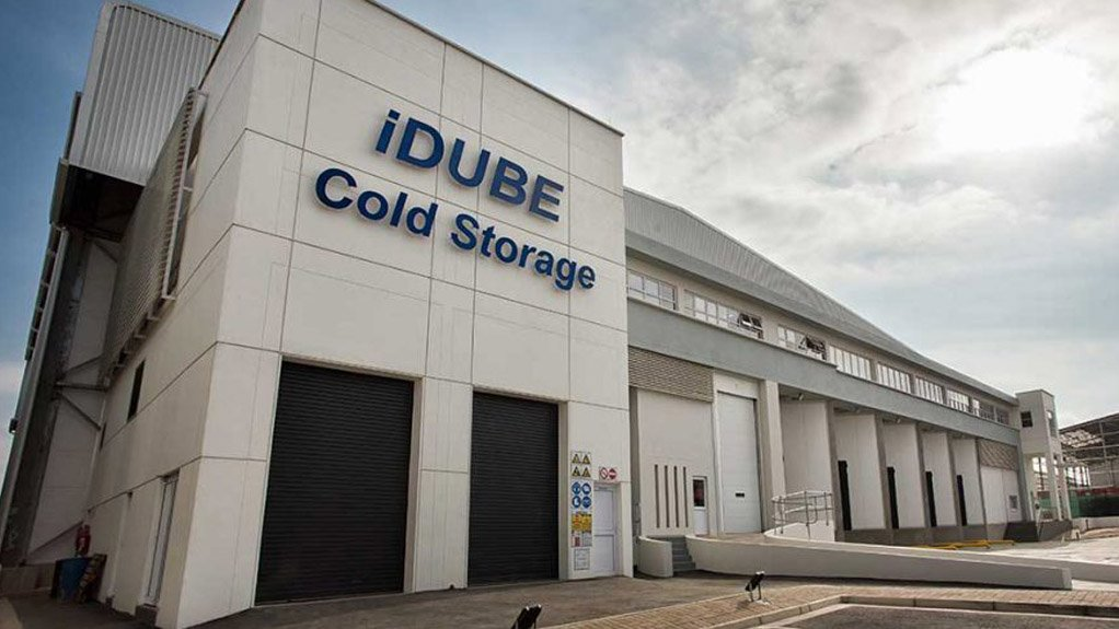KEEP IT COOL  The iDube Cold Storage facility caters for meat importers servicing local retailers and for exports of dairy, concentrate and citrus to international markets