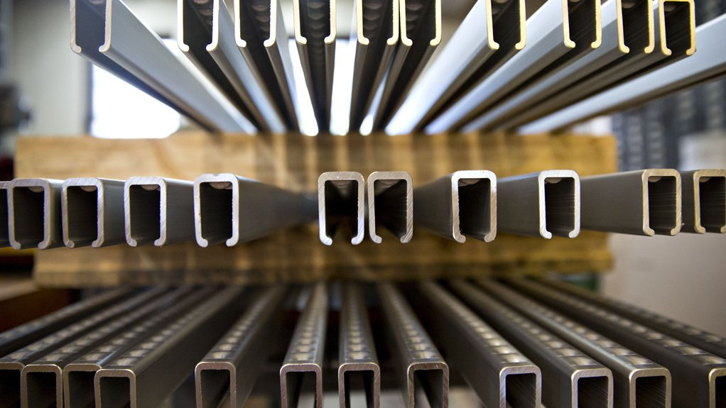 STRONG RESULTS  Aluminium supplier and exporter Hulamin's unaudited interim results for the half-year indicated noteworthy headline earnings a share up 17% to 56c a share