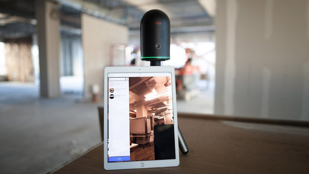 EASE OF USE The integration of the Leica BLK360 laser image scanner and Autodesk software streamlines the reality capture process