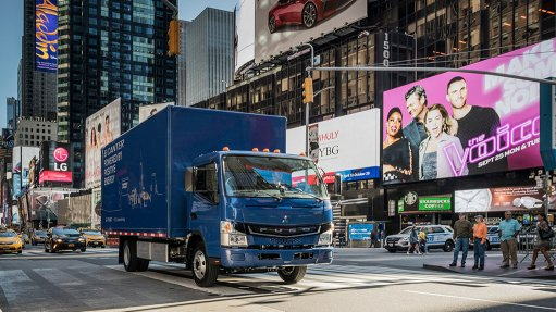 World's first electric truck in series production makes US debut