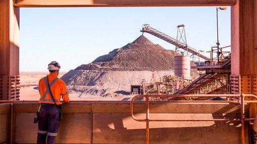 Prominent Hill mine, Australia