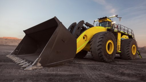 World's 'largest wheel loader' bound for Zambian copper mine