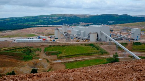 Drakelands mine, UK