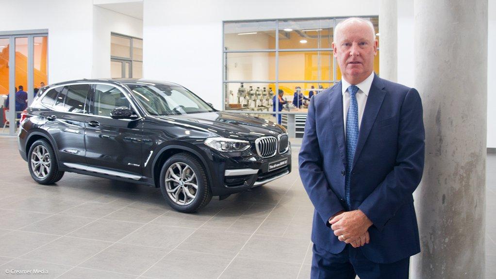 BMW SA CEO Tim Abbott