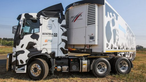 Eqstra unveils cold trailer powered by truck engine