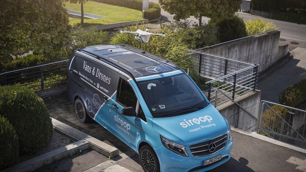 Mercedes-Benz Vans, Matternet and Siroop start pilot project for drone deliveries