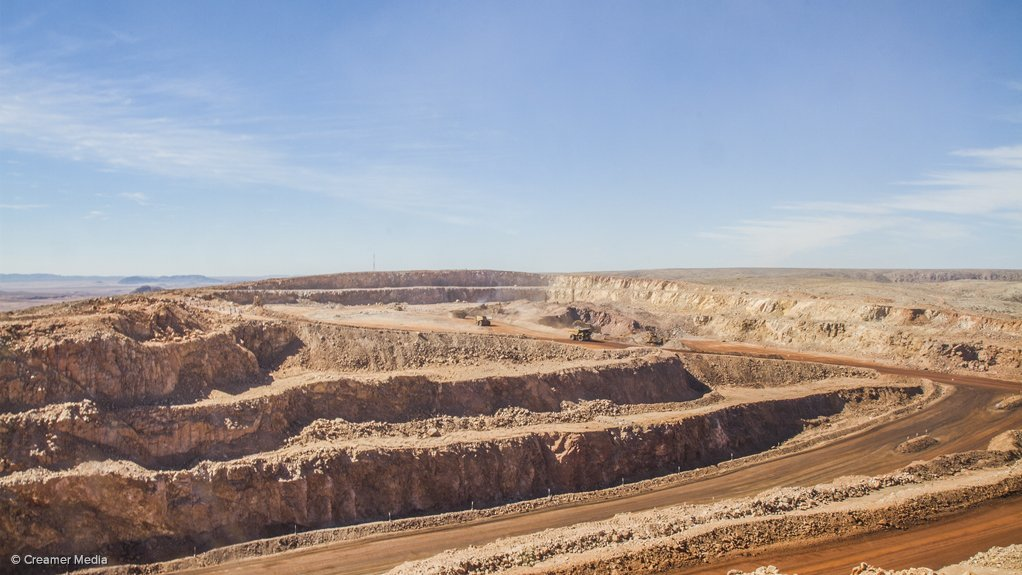 Activity at the Gamsberg zinc mine project.