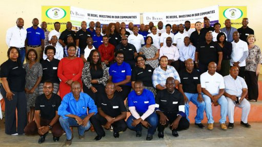 Diamond company invests in mining communities