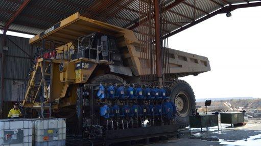 Openpit mine enhancing rigid dump truck performance