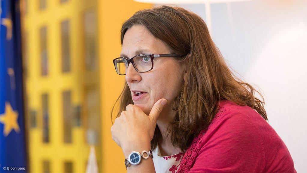European Union Commissioner for Trade Cecilia Malmström