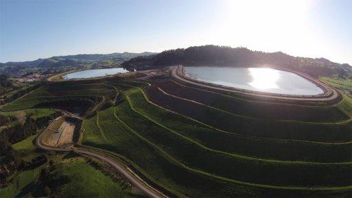 Waihi mine, New Zealand