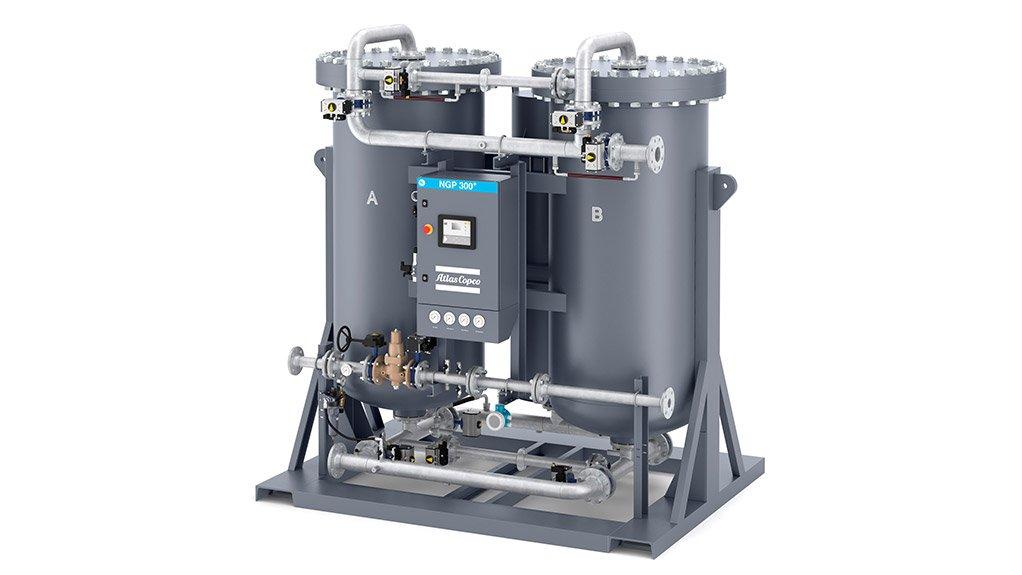Atlas Copco NGP+ Nitrogen Generator – 99,999% pure nitrogen onsite!
