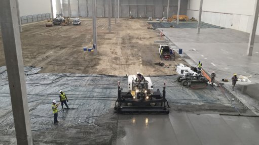 SMOOTH OPERATOR CLF provided a seamless 200-mm-thick, fibre-reinforced concrete floor for Value Logistics