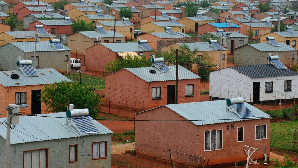 SOCIOECONOMIC BENEFITS Authorities would do well to accelerate the pace of affordable housing delivery, such as Reconstruction and Development Programme housing