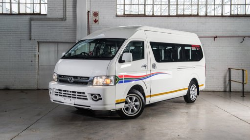 BAW introduces SA assembled diesel taxi