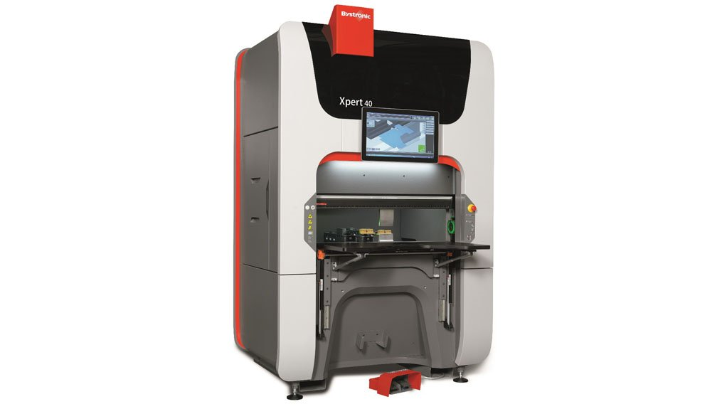 TIMED INVESTMENT The Bystronic laser, a significant capital investment, is one that is best done at the downturn of the industry, or just after the upturn