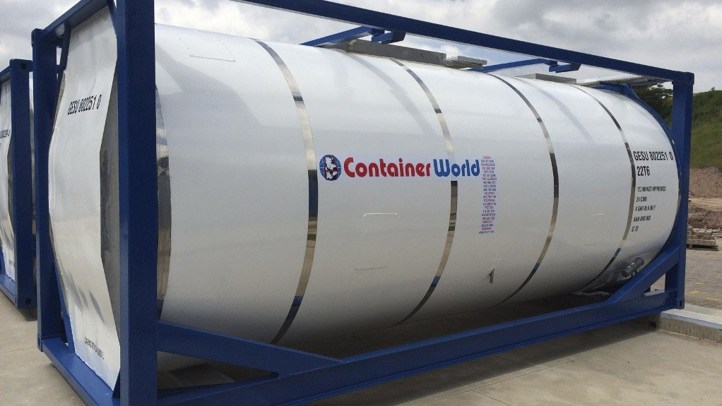 TANKTAINER Container World's tanktainers can store nonhazardous, semi-hazardous and hazardous materials and products