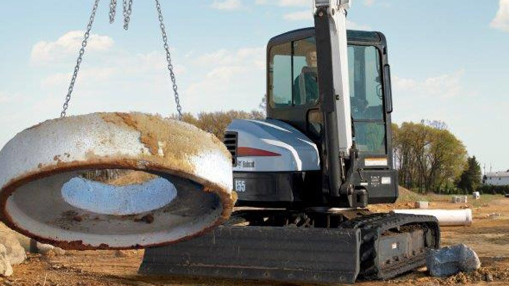 Precision control boosts productivity on Bobcat E55 compact