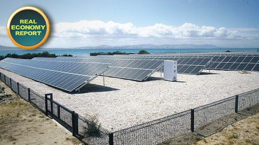 Robben Island inaugurates solar PV microgrid