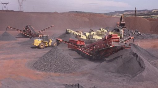 Company continues ramp-up of new  iron-ore asset