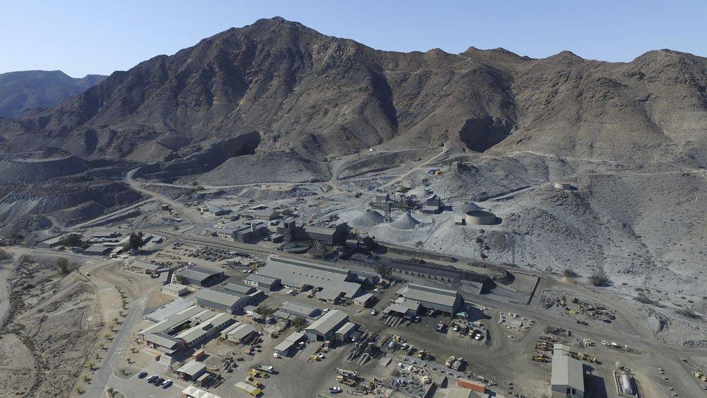 ROSH PINAH  Namibia is an attractive mining jurisdiction, hosting many operating mines, including Rosh Pinah
