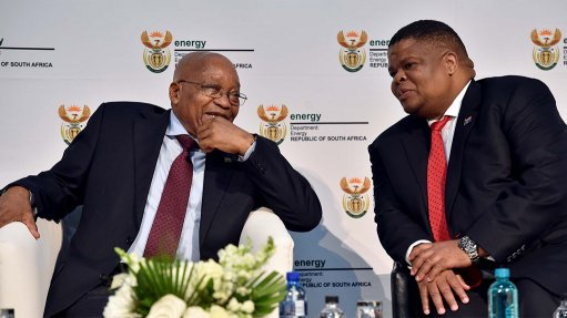 Zuma promises 'seamless' ANC transition at energy indaba that sidesteps IRP debate