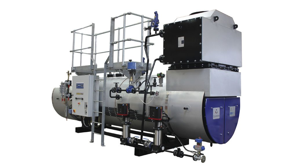 CLEANER TECHNOLOGY Steam Generation's heat recovery boilers are fully insulated and clad, complete with valves and pipework, to ease site installation