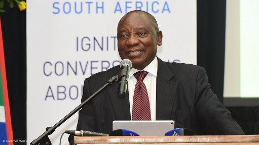 Cyril Ramaphosa calls for mining sector action
