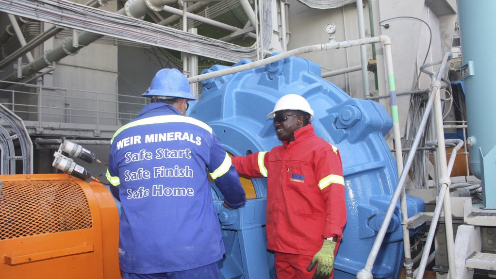 AUDIT SERVICE Weir Minerals takes a holistic approach, analysing a client's entire circuit to pinpoint the factors affecting a pump's performance