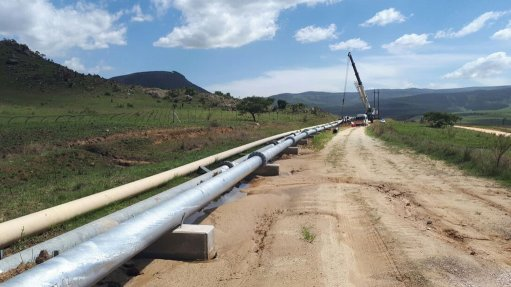 Nkomati mine tailings pipeline project set for completion next month
