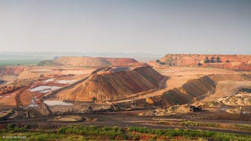 The Phalanndwa colliery