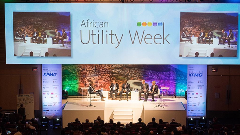 NETWORKING HUB The African Utility Week conference and expo will feature over 300 speakers