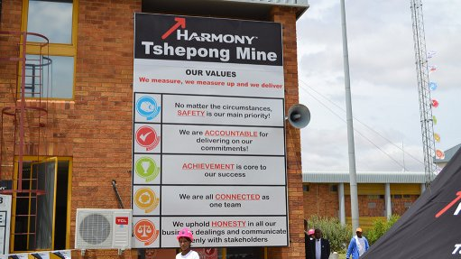 Tshepong operations, South Africa