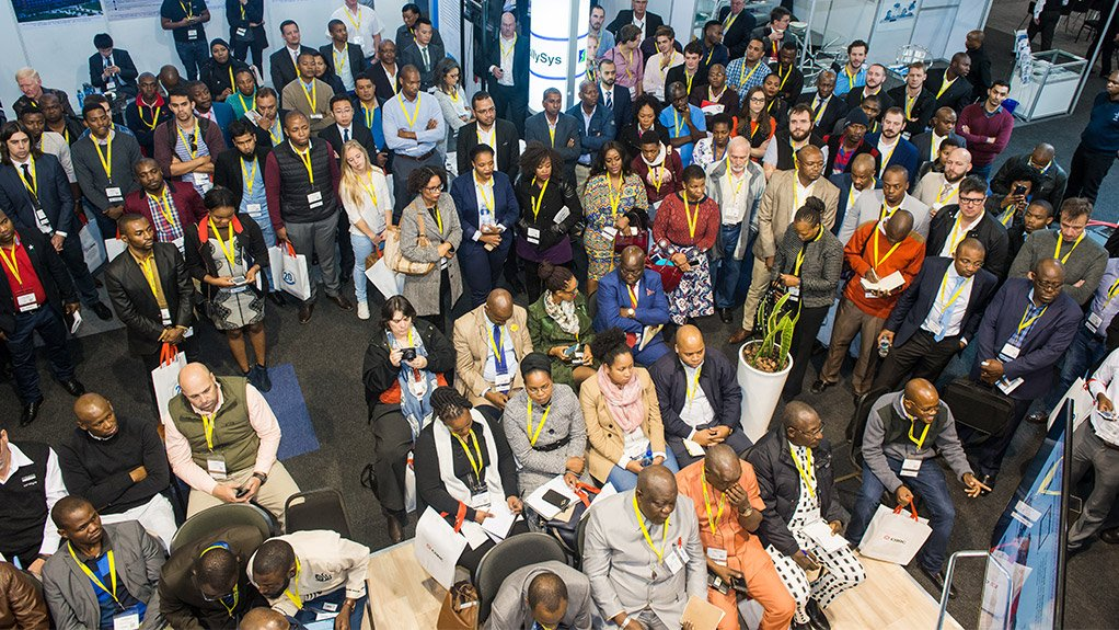 GROWING NUMBERS Africa Rail organiser Terrapinn expects 7 000 attendees this year