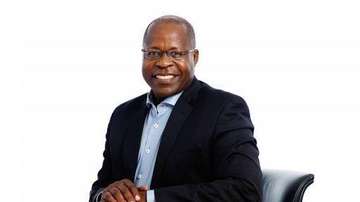 Lonmin CEO Ben Magara